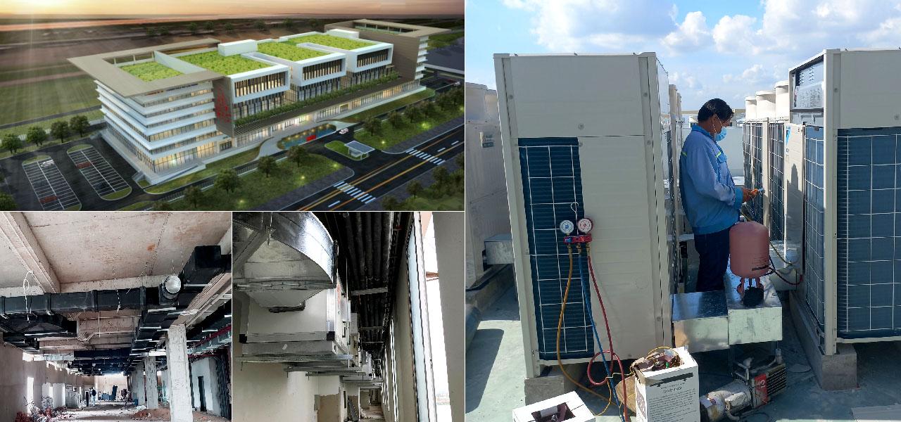 thi công hệ thống thông gió bệnh viện